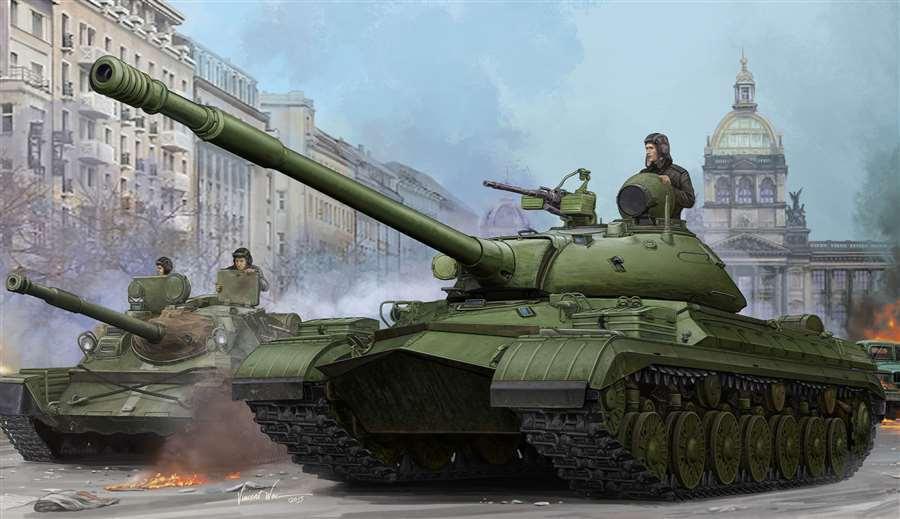 CHAR LOURD SOVIETIQUE T-10M, 1957 - KIT TRUMPETER 1 35 n° 5546