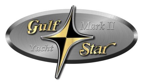 "Gulf Star Sticker single Model of your choice not OEM Die Cut 15/""X8/"""