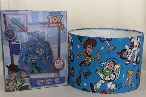 Officiel Toy Story 4 Simple Housse Couette /& Assorti Abat-jour