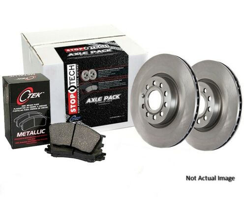 Centric 908.46508 Semi-Metallic Rear Disc Brake Pad and Rotor Kit