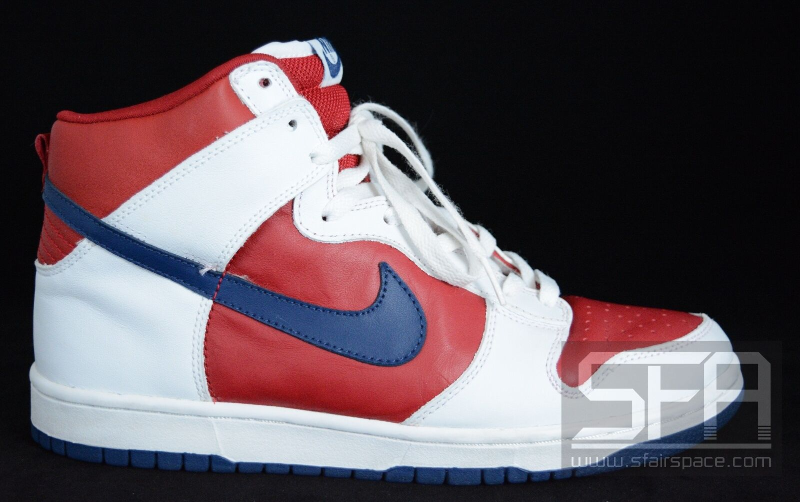 2018 NIKE DUNK HIGH LA CLIPPERS WHITE RAPID BLUE RED 305287-141 9.5 LOS ANGELES