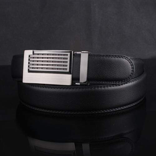 Luxury Silver Men Automatic Metal Belt Buckle Without Belt Strap Wristband