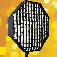 "80cm 31.5"" Octagon Circle Umbrella Soft box Brolly Reflector + Grid Honeycomb"