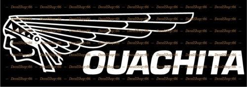 OUACHITA Canoe Outdoor Sports Vinyl Die-Cut Peel N/' Stick Decals//Stickers