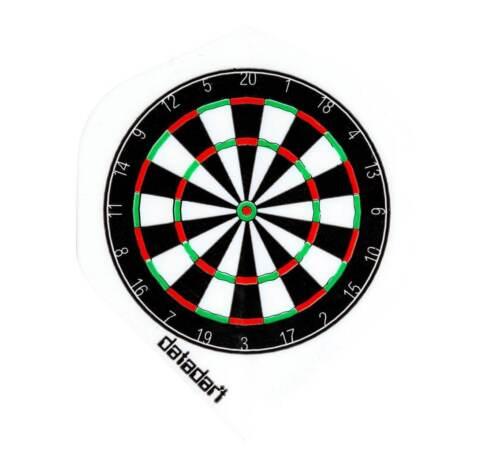 Datadart Metro M014 dartboard standard shape dart flights 5 sets