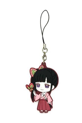 Demon Slayer Kimetsu no Yaiba Rubber Strap Keychain Charm ~ Kanao Tsuyuri @36125