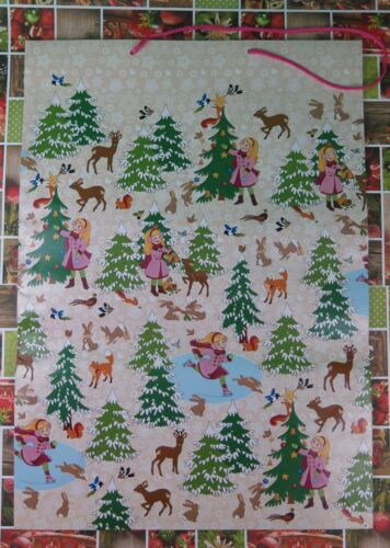 Susy Card Geschenktüte Winterlandschaft