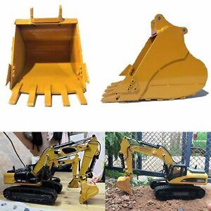 Todos-metal-580-336d-simulacion-Bucket-para-huina-580-1580-RC-excavadoras-Excavator