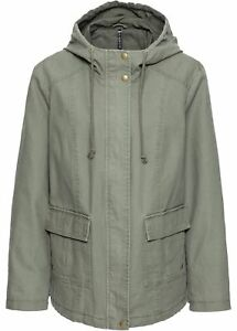 Jacket Cool look Gr Look Manteau Khaki Trendy Capuche Manteau Femme Green À M 48 AXdHxd