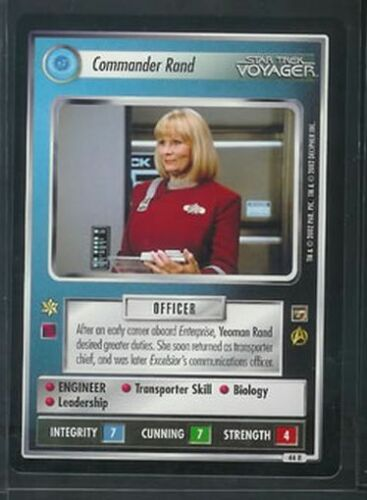 Star Trek Motion Pictures Commander Rand 44R NM//M