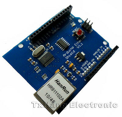 Ethernet Shield ENC28J60 RJ45 Lan Network Webserver For Arduino 2009 UNO Mega256