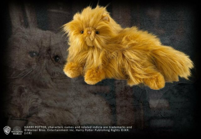 Harry Potter Crookshanks Small Plush Toy from The Noble Collection NN7638
