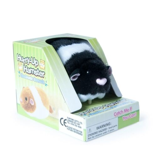 WHITE Hurry Up Hamster /& MOUSE  MOVEMENT AND SOUND BLACK