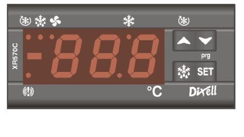 Dixell Kühlstellenregler XR570C temperature controller Thermostat