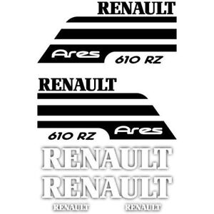 Renault Ares Tractor stickers decals