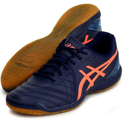 Asics JAPAN CALCETTO WD 8 Indoor Soccer Football Futsal Shoes 1113A011 Navy | eBay