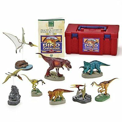COLORATA 3D Reference Book Realistic Figure BOX Dinosaur vol.1 with tracking
