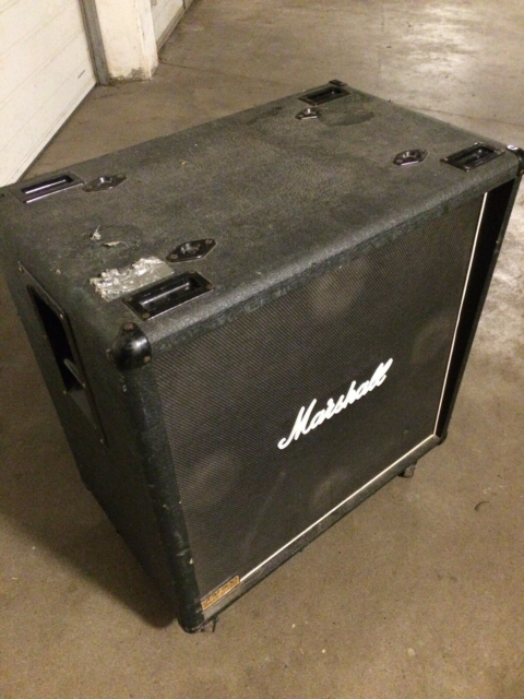 Baskabinet, Marshall JCM 800 Model 1510, 200 W, Vintage…