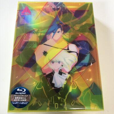 PROMARE Animation Movie Blu-ray Limited Edition /& Steel Badge Set