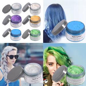 Temporary-Grey-Hair-Wax-Men-Women-Grandma-Hair-Ash-Dye-Gray-Mud-6-Colors-DH