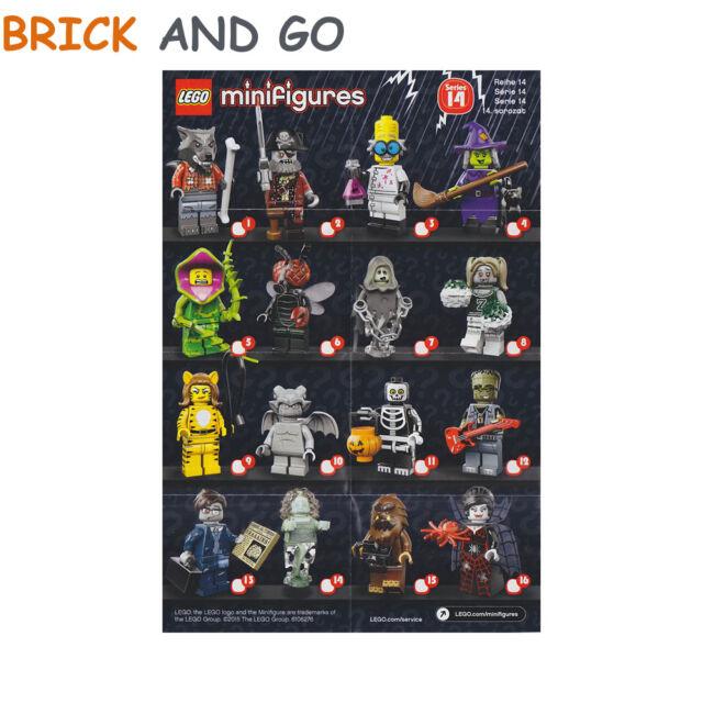 Lego Minifig Figura Minifigura 71010 Serie 14 Serie 14 a Elegir Nuevo Nueva