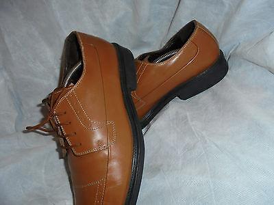 MARCO GABALLO Hombre Cuero Tostado Zapatos De Cordones Talla Uk 11 EU 45 en muy buena condición