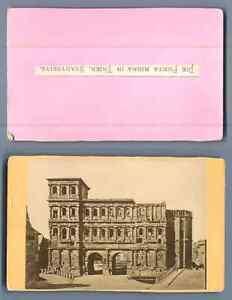 Allemagne Treves La Porta Nigra Vintage Carte De