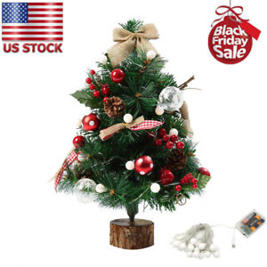 san francisco 2e200 8a942 Details about Artificial Flocking Christmas Tree LED Multicolor Lights Xmas  Holiday Decor US