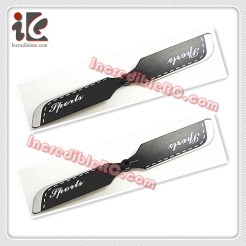"""2X TAIL BLADE FOR G.T QS 8005 42/"""" RC HELICOPTER SPARE PARTS QS8005-012"""