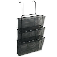 Fellowes Mesh Partition Additions Three-file Pocket Organizer 12 5/8 X 16 3/4 on sale