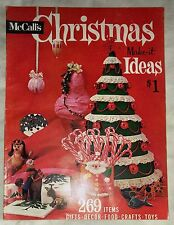 Vintage 1960s McCall's CHRISTMAS MAKE-IT IDEAS Vol. 4 ©1961 Back Issue Magazine