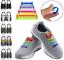 Lacet-Chaussure-Elastique-Silicone-Baskets-Adulte-Enfants-facile-16-pieces miniatuur 3