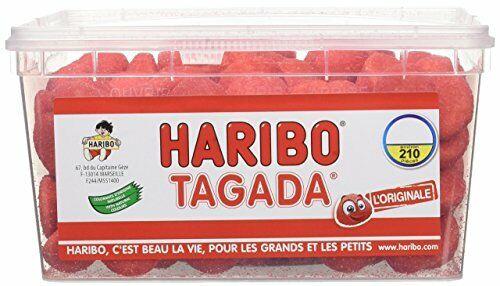 Bonbons gélifiés 1050 kg Haribo Tagada x 210 1 pc
