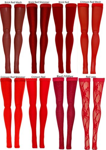 23cm 25cm 27cm Red Doll Stockings for Momoko /& Obitsu dolls