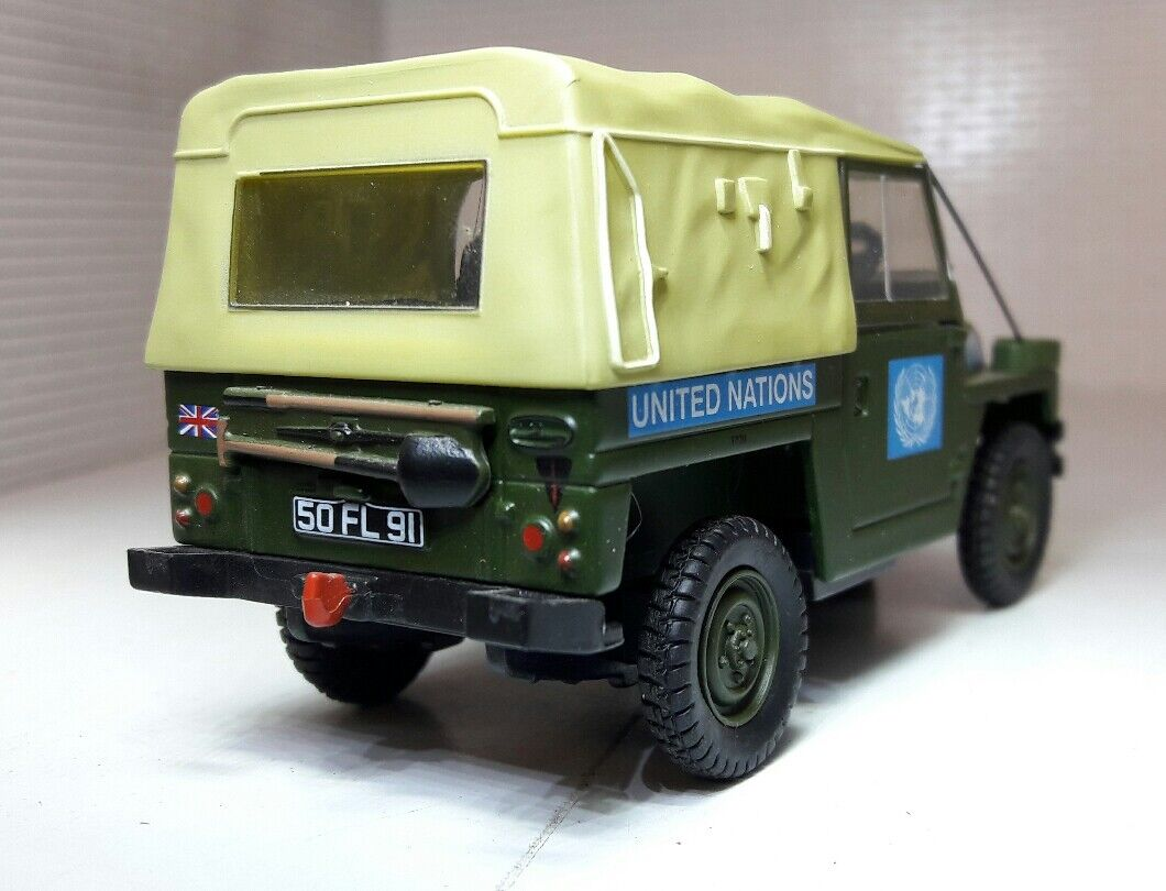 1 43 43 43 Maquette Land Rover Série 2a 3 Léger Lwt non Britannique Armée Oxford 48108d