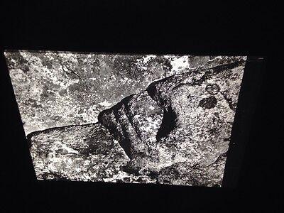 "Gloucester Massachusetts/"" Photography 35mm Art Glass Slide Aaron Siskind /""Rock"