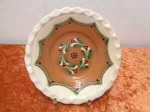 Diseno-Ceramica-Placa-de-Pared-Handarbeit-Topferhandwerk-Vintage-19-5CM