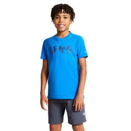 Dare 2b Boys Go Beyond Cotton Casual Graphic T Shirt
