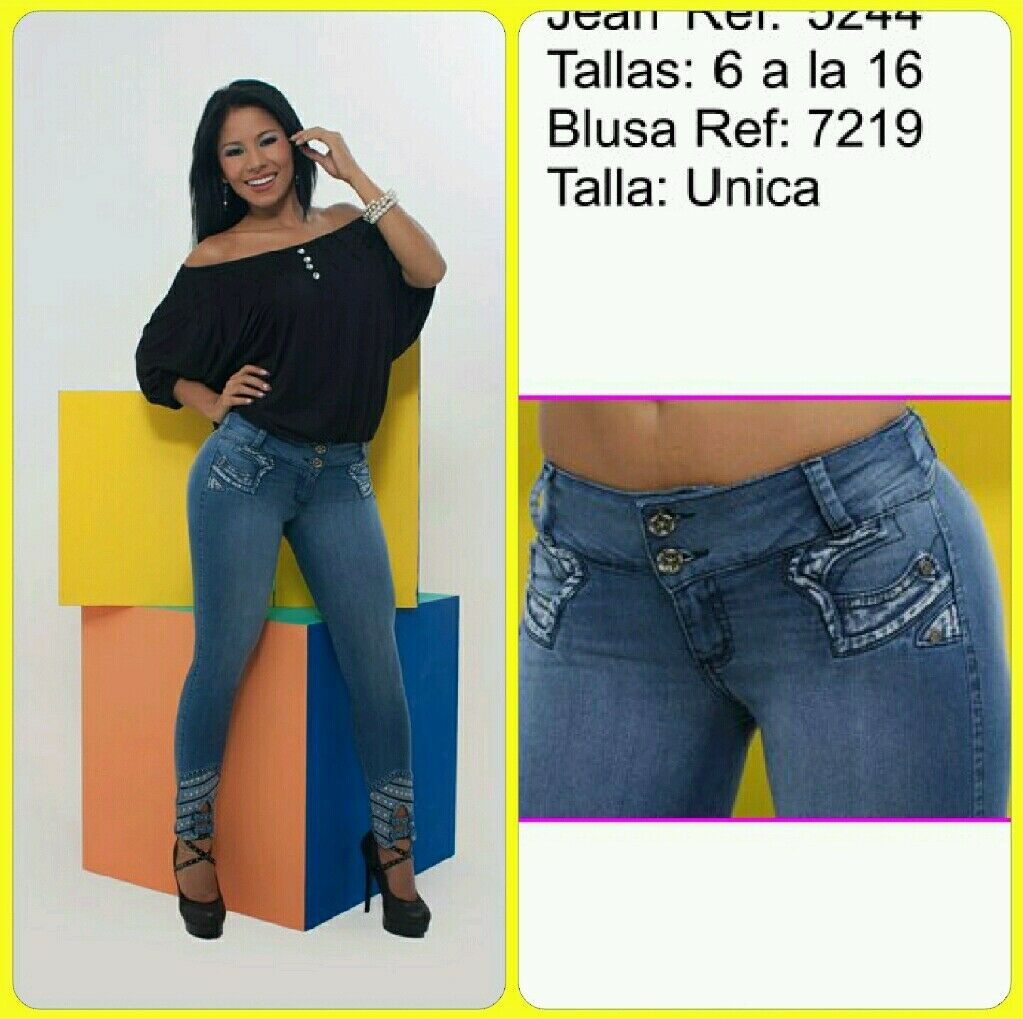 Colombian Butt Lift Jeans 7-8 USA