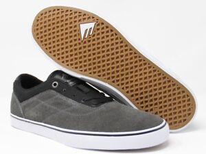 Emerica-The-Herman-G6-Vulc-Dark-Grey-Black-Skate-Shoes-Size-10