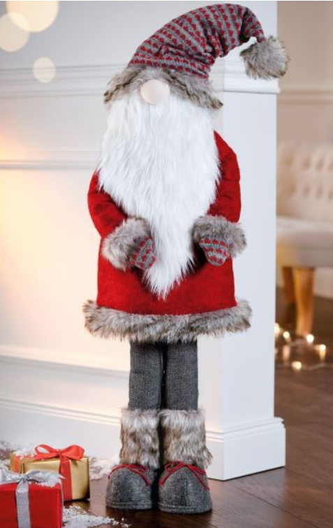 Deko-Figur Deko-Figur Deko-Figur Santa Klaus Weihnachtsmann Nikolaus Weihnachtsdekoration 1d68a4