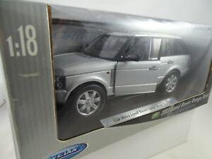 01:18 Welly # 2536w 2003 Land Rover Range Argent Rare