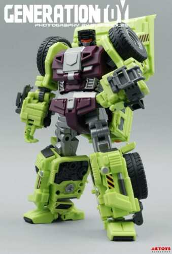 Transformers Generation Toy GT-1 Gravity Builder Devastator GT-1A Scraper NEW