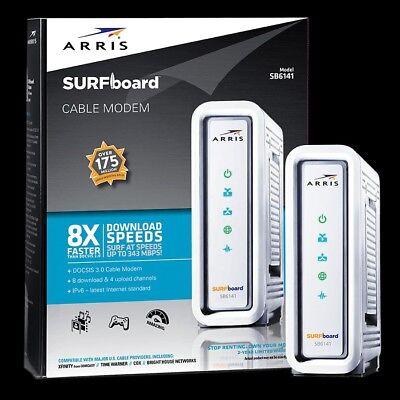Motorola SURFboard SB6141 (581902-022-00) 351.23 Mbps