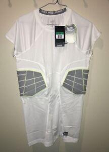 86562063 NIKE Pro Combat Hyperstrong Compression 2 Pad Rib Football Shirt ...