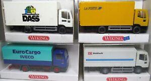 Wiking-1-87-Iveco-Scania-camiones-OVP-para-seleccionar