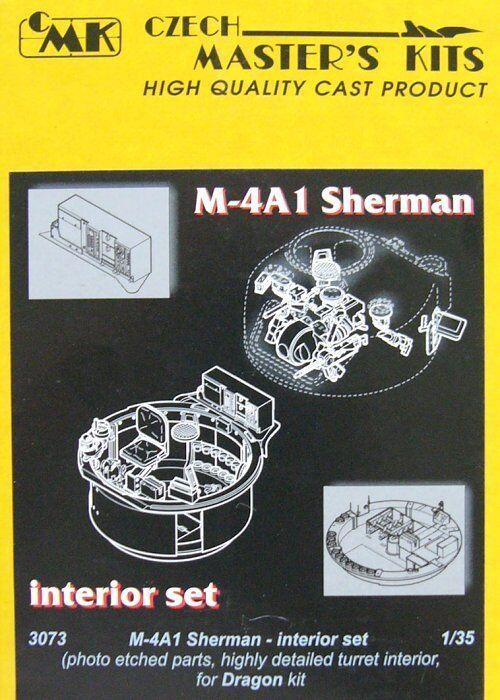 Czech Master 1 35 M4a1 Sherman Presto     Late Interiore Set per Drago Kit  3073 169d2c