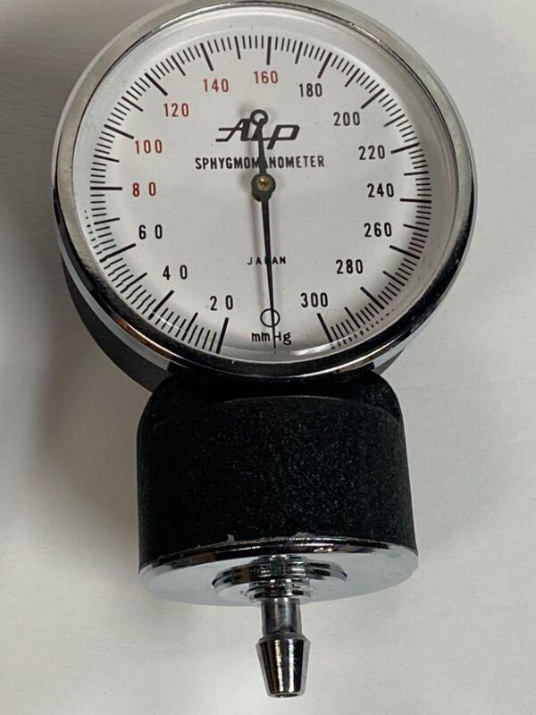 Vintage Sphygmomanometer Blood Pressure Cuff, Stethoscope Works, Not Complete