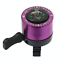 Blue Purple Birthday Gift Travel Compass Bicycle Bike Cycle Bell Silver Black