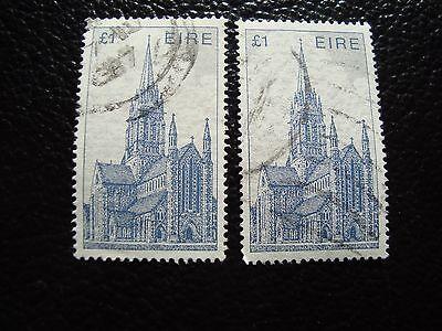 a32 s Einen Einzigartigen Nationalen Stil Haben Irland Briefmarke Yvert Und Tellier Nr 574 X2 Gestempelt